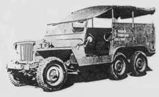 Проекты американцев на базе Jeep Willys 1942-1945 года Jeep6