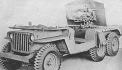 Проекты американцев на базе Jeep Willys 1942-1945 года Jeep6a